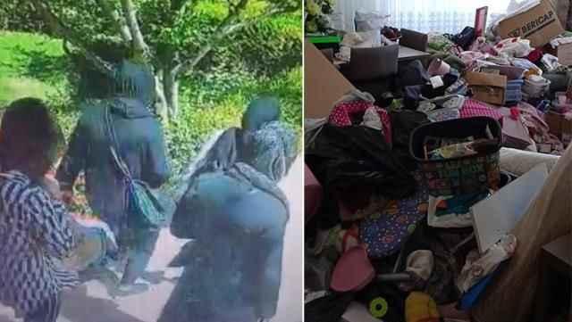 Akılalmaz hırsızlık planı! 4 kadın hırsız evi talan etti
