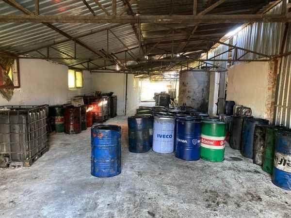 16 bin litre kaçak akaryakıt ele geçirildi