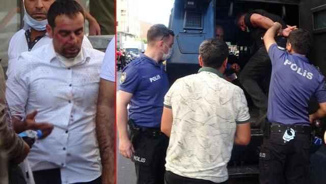 Adliye çıkışı taraflar birbirine girdi, ortalık savaş alanına döndü: 10 gözaltı