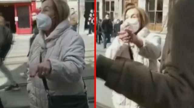'Çarşaf tartışması': 3 genç kıza tepki gösteren kadına hapis cezası istendi