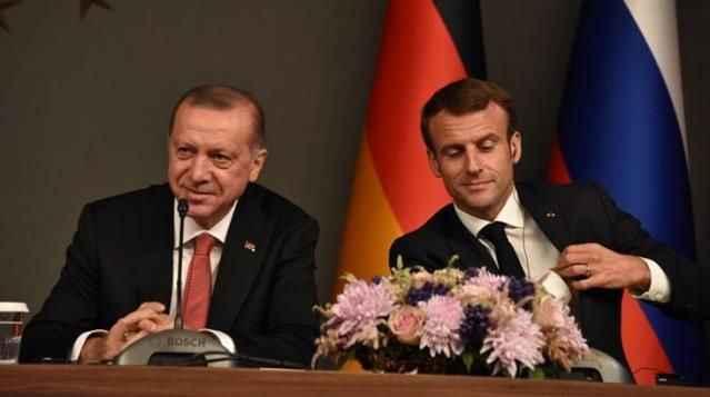 Macron'dan Erdoğan sorusuna yanıt