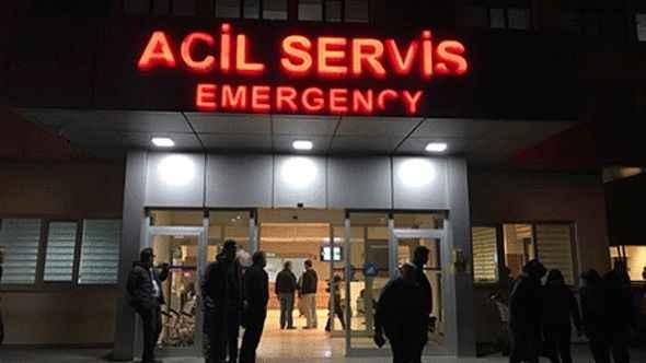 Alanya'da merdivenlerden düşen genç yaralandı