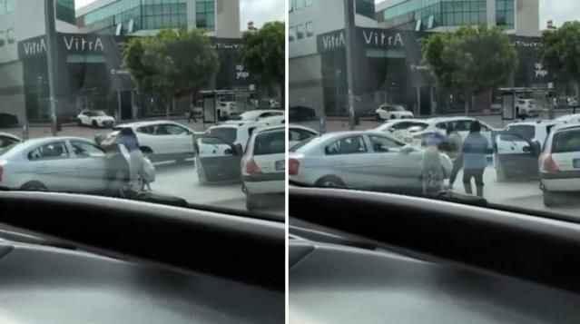 Antalya'da trafiği kilitleyen kavga! Kadınlar saç saça baş başa birbirine girdi