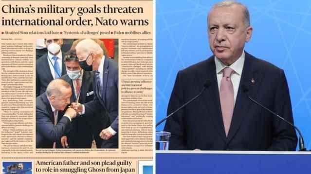 Erdoğan'ın danışmanı Financial Times'ın kapağına sessiz kalmadı
