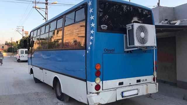 Dışardan bakınca otobüs! İçini gören şaşkınlığa uğruyor