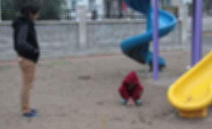Alanya'da çocuk parkında sözlü taciz skandalı