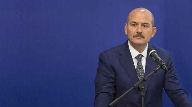 İçişleri Bakanı Soylu'dan şehit polis için başsağlığı mesajı