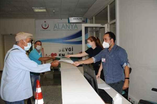 Alanya'da aşı seferberliği