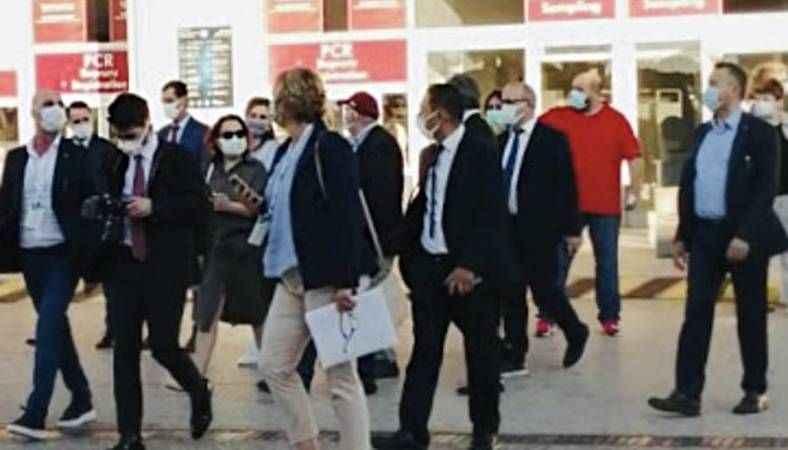 Rus heyet Antalya'da şok etkisi yarattı! Bir anda program değiştirdiler