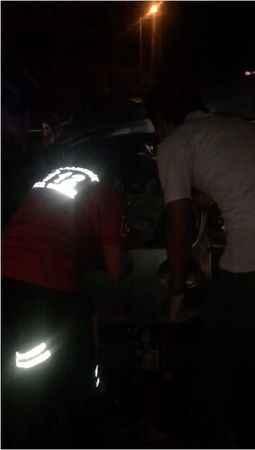 Alanya'da ticari araç TIR'a çarptı: 2 yaralı