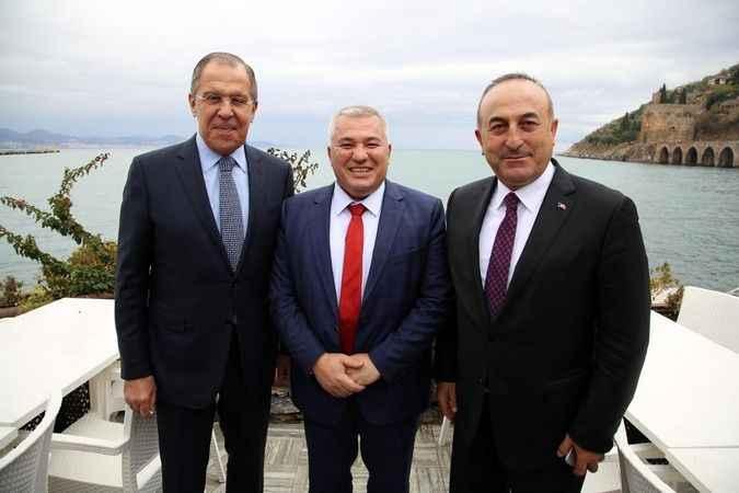 Şahin'den Bakan Çavuşoğlu'na Rusya teşekkürü