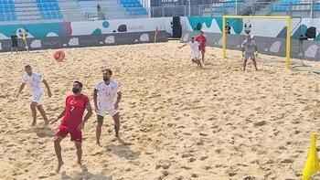 Plaj Futbolu Milli Takımı, İspanya'ya yenildi!