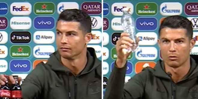 Ronaldo'nun tepkisi hisseleri vurdu