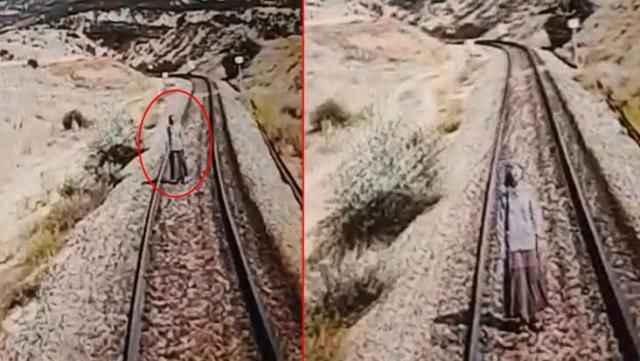 Bile bile ölümü bekledi! Trenin çarpmasıyla feci şekilde can verdi