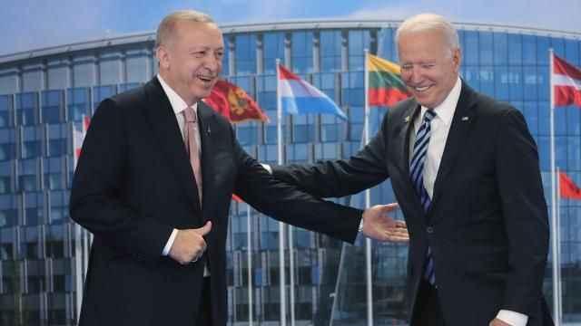 Cumhurbaşkanı Erdoğan'dan Biden açıklaması: 'Yeni bir dönem'