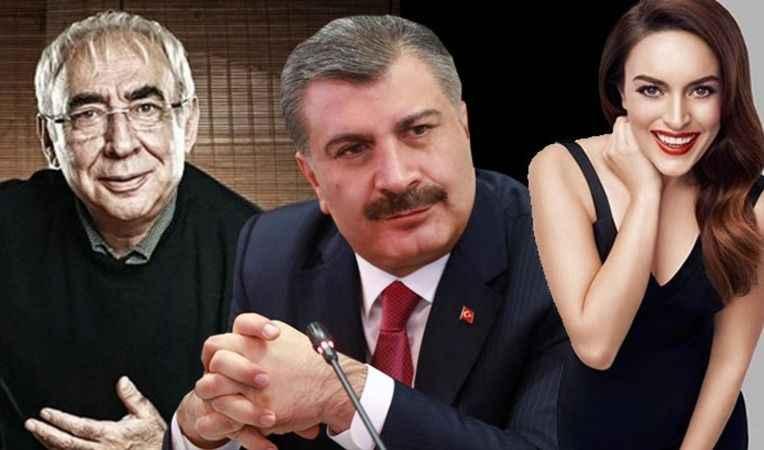 Bakan Koca paylaştı: Şener Şen ve Ezgi Mola sürprizi!