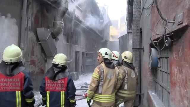 Sanayi sitesinde patlama! 4 yaralı