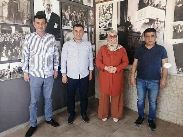 MHP Korkuteli, Alanya'yı ziyaret etti
