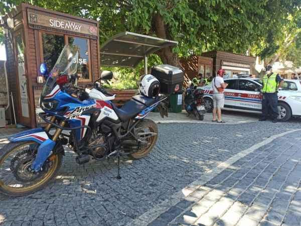 Alanyalı motosiklet sürücüleri dikkat! Timler ceza yağdırıyor