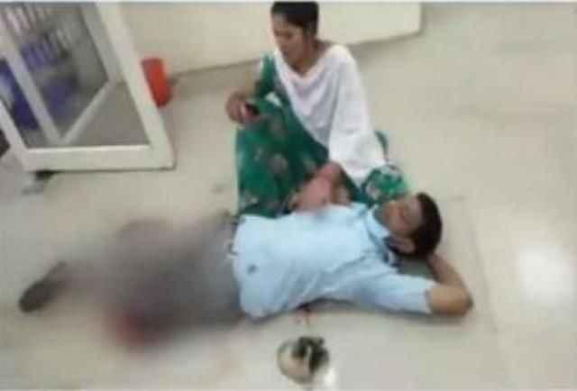 Bankada gözlerinin önünde kocasını vurdular