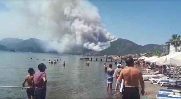 Turizm bölgelerindeki en güzel ormanlar peş peşe yanıyor! Otel yapılacak iddiası