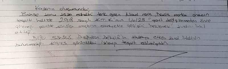 4 yaşındaki çocuğun ölümüne neden olup böyle kaçtılar