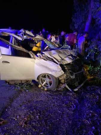 Serik'te zincirleme trafik kazası! Korkutan kazada 4 kişi yaralandı