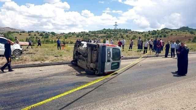 Fena trafik kazası: 1 ölü, 2 yaralı