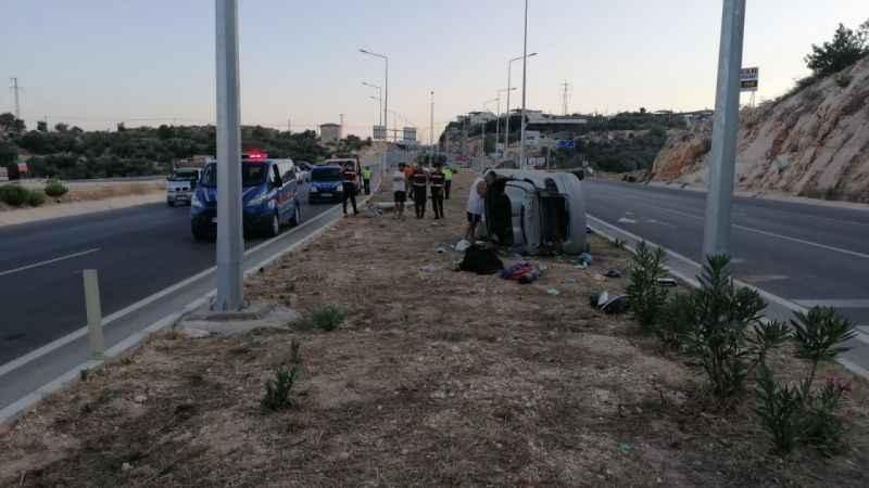 Fena trafik kazası: 1'i ağır 4 yaralı
