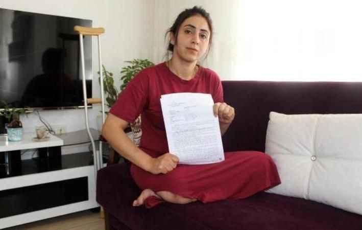 Genç kadın dehşeti yasadı! Kocasından boşanmak istedi, sağ bacağını kaybetti