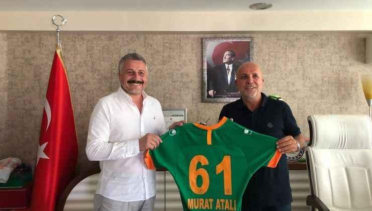 TEF Başkanı Prof. Dr. Murat Atalı, Hasan Çavuşoğlu'nu ziyaret etti.
