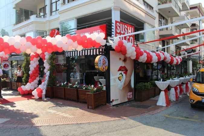 Sushi To Go, Ahmet Asım Tokuş Caddesi üzerinde açıldı.