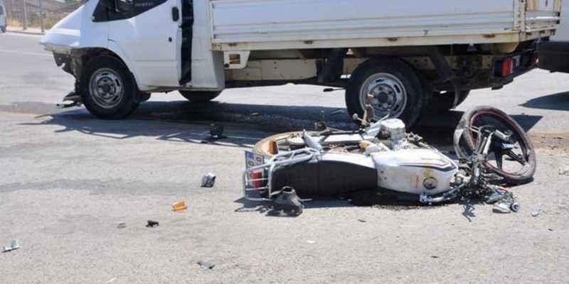 Gazipaşa'da korkutan kaza! 1 kişi ağır yaralandı