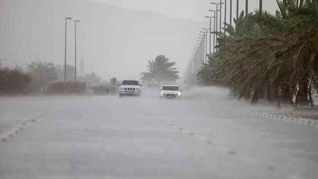 Dubai'de sıcaklıklara karşı drone ile yapay yağmur