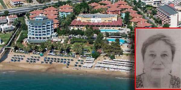Alanya'da tatil yaptığı otelde hayatını kaybetti