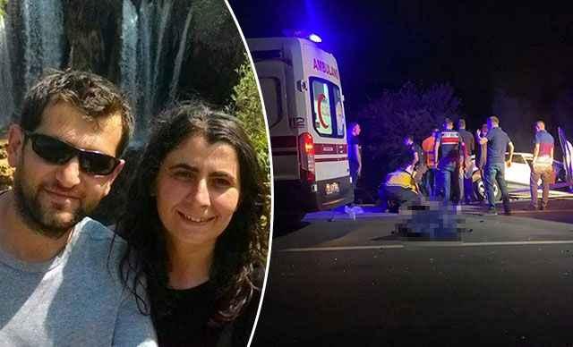 Zincirleme kazada, bir aile yok oldu! Öğretmen çift ve 2 çocukları öldü