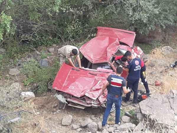 Korkunç trafik kazası! 1 kişi hayatını kaybetti