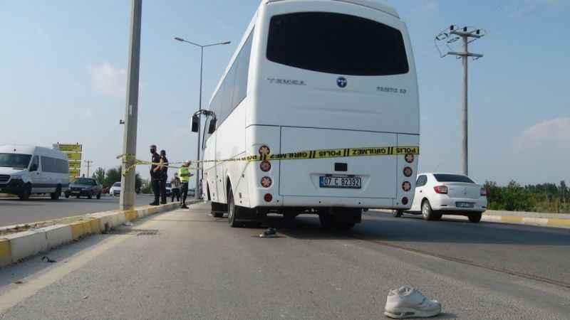 Serik'te acı kaza! Anne ve oğlunu ölüm ayırdı
