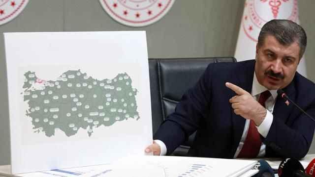 Son dakika... Türkiye'de 22 Temmuz günü koronavirüs tablosu