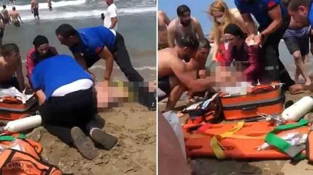 Kahreden olay! Denize giren iki kardeş boğuldu