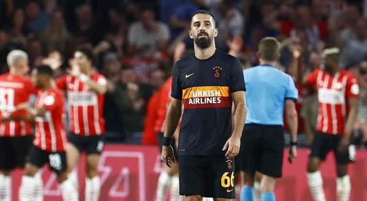 Galatasaray'a Şampiyonlar Ligi'nde ağır yenilgi