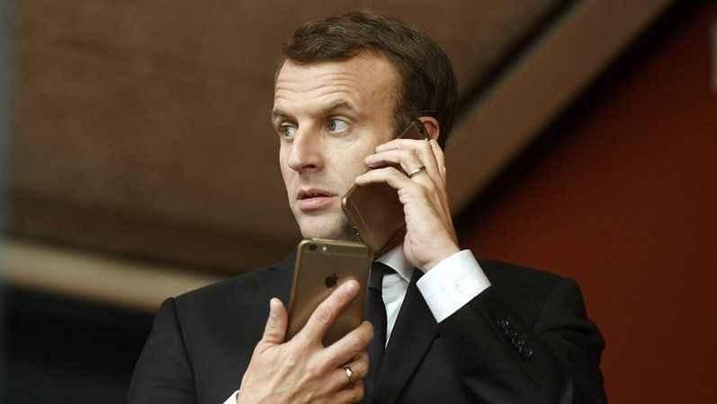 Pegasus şüphesi: Dünya bunu konuşuyor! Macron cep telefonunu değiştirdi