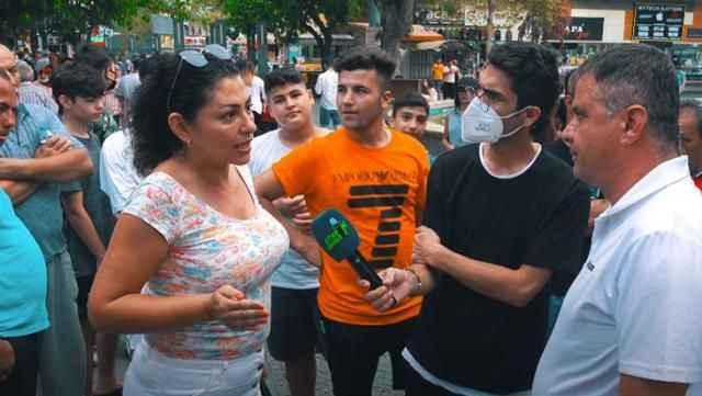 Sokak röportajında gaziye söylenen sözler çileden çıkardı!