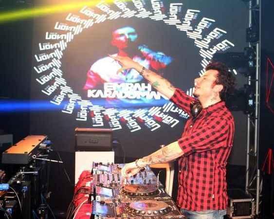 Ünlü DJ Emrah Karaduman Alanya Illusion'da