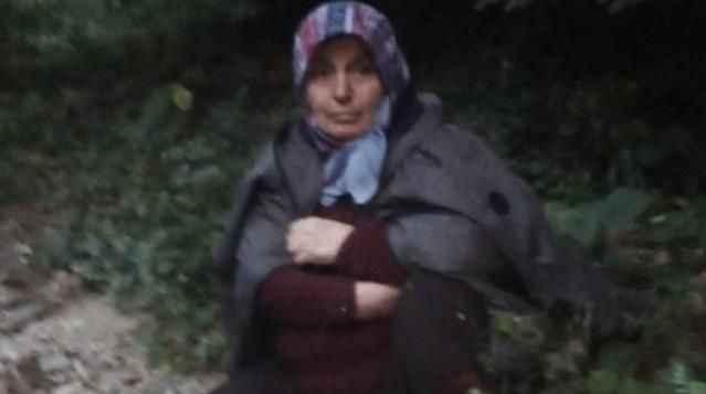 Kaybolan kadın 3 gün sonra bulundu!