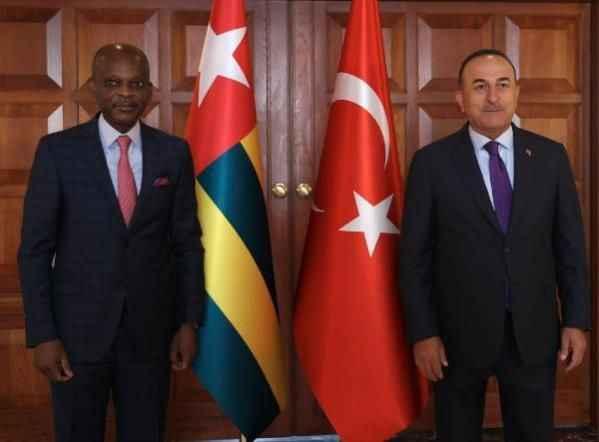 Bakan Çavuşoğlu, Togolu mevkidaşını ağırladı.