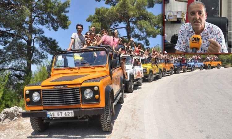 Alanya'da Jeep Safari araçları denetlenmiyor!