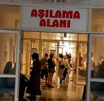 Alanya EA Hastanesi'nde 'Aşı' krizi