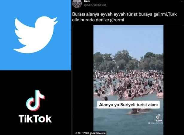 Alanya'ya çirkin saldırı! Bu görüntülere sosyal medyada tepki yağdı