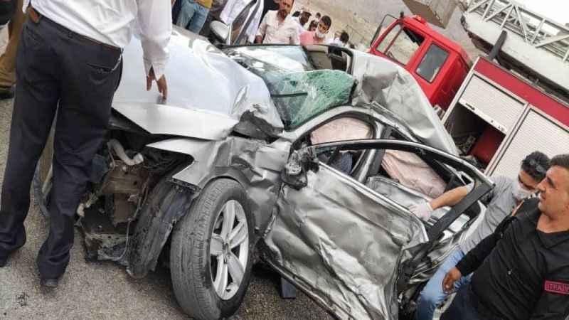 Korkunç trafik kazası: 1 ölü, 1 yaralı